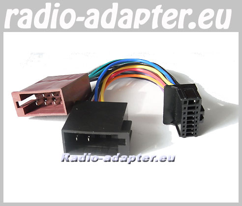 pioneer deh-p 1530, deh-p 1590 car radio stereo iso wiring ... pioneer car stereo wiring harness deh 1600 #4