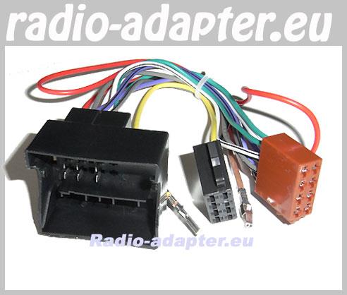 audi a4 b7 b8 ab 2004 radioadapter autoradio adapter radioanschlusskabel car hifi radio. Black Bedroom Furniture Sets. Home Design Ideas