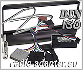 Ford Fiesta 1995 - 2003 Lenkrad Adapter, Radioblende Antennenadapter