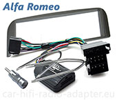 Alfa 147 2001 - 2003 Lenkrad Adapter, Radioblende, Antennenadapter