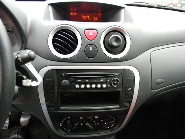 citroen c2 c3 radioblende radioadapter din autoradio einbauset car hifi radio. Black Bedroom Furniture Sets. Home Design Ideas