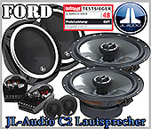Ford Galaxy Auto Lautsprecher, Testsieger JL-Audio C2-650x Set